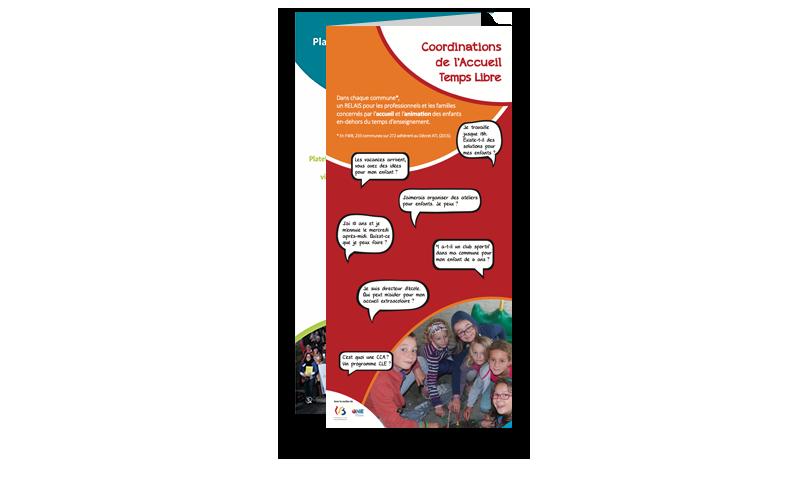 Photo de la brochure de l'accueil temps libre à Ixelles